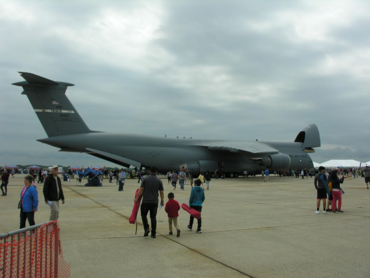 The Lockheed C-5 Galaxy Cargo Plane