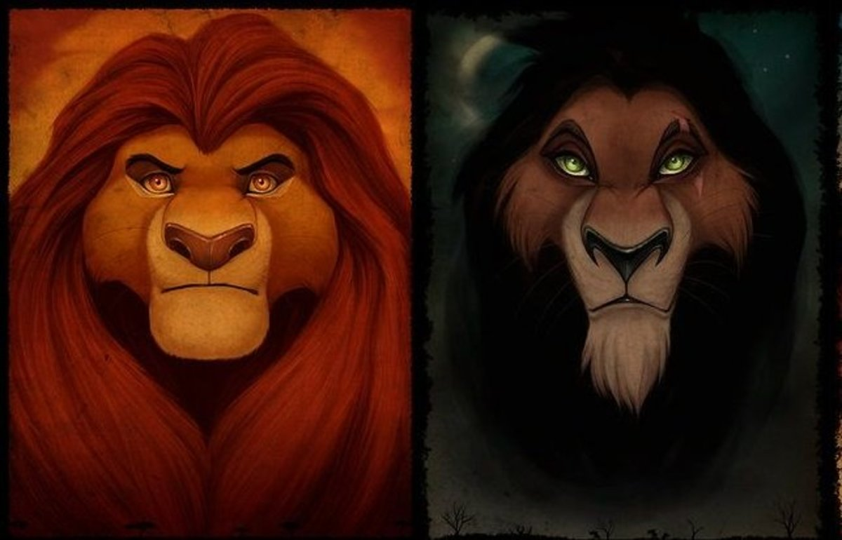 "Scar's Surprising Backstory in ""Lion King"""