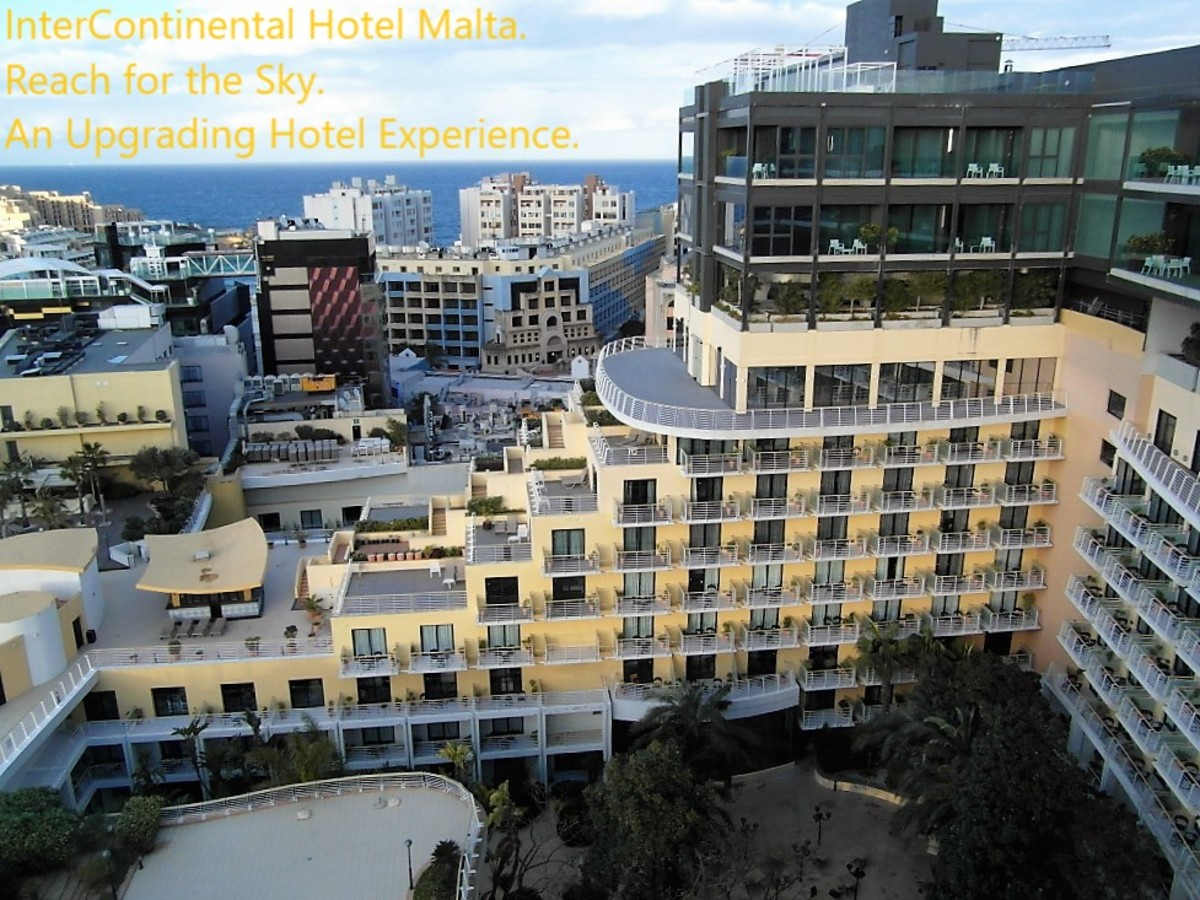 InterContinental Hotel Malta: An Upgrading Hotel Experience