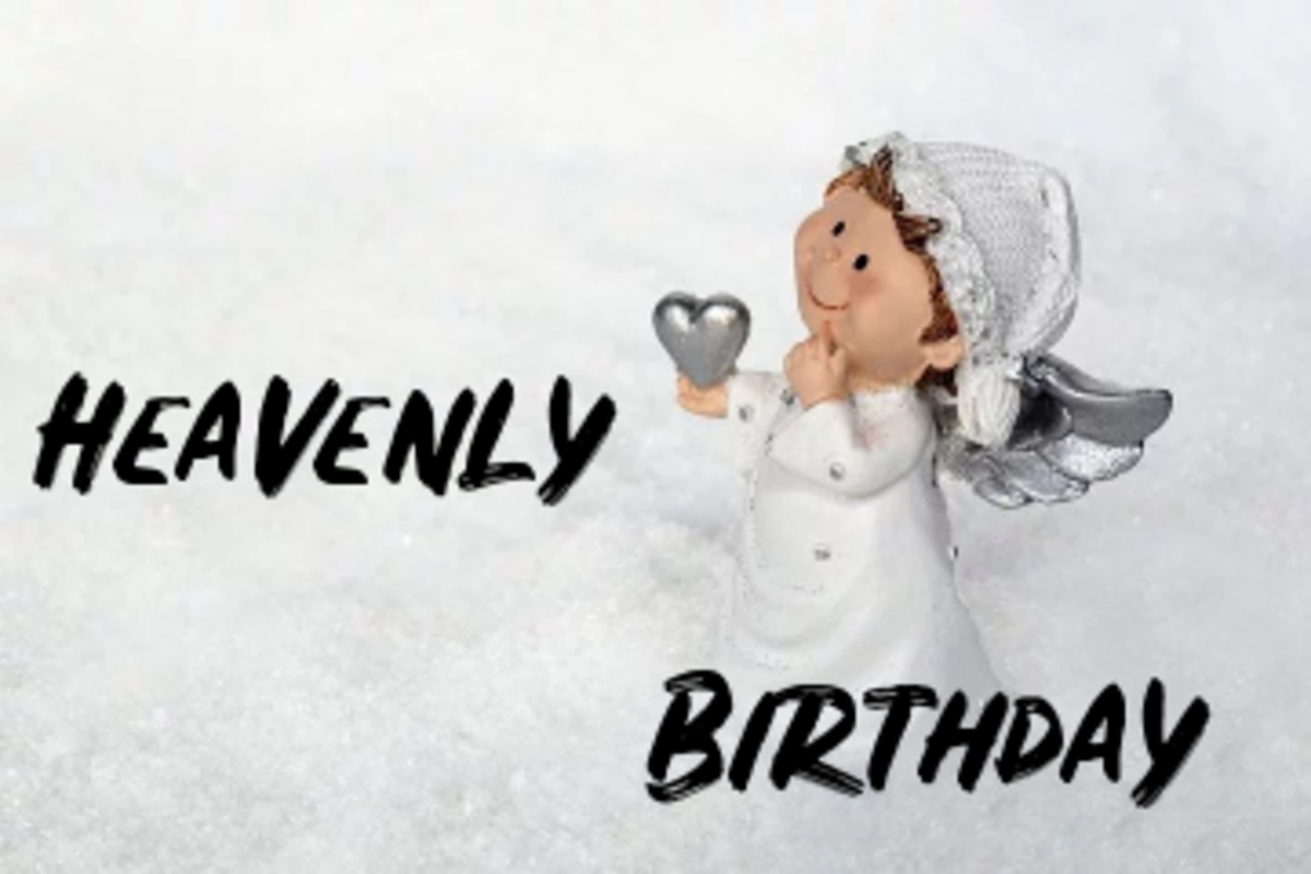 Poem: Heavenly Birthday