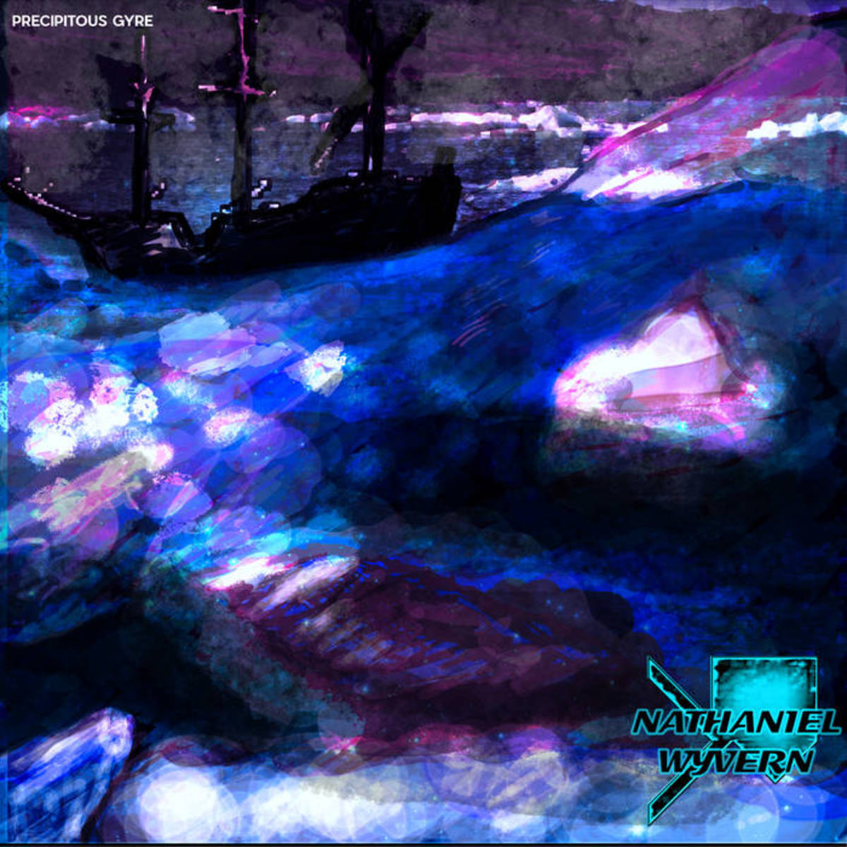 """Synth EP Review—""""Precipitous Gyre"""" by Nathaniel Wyvern"""