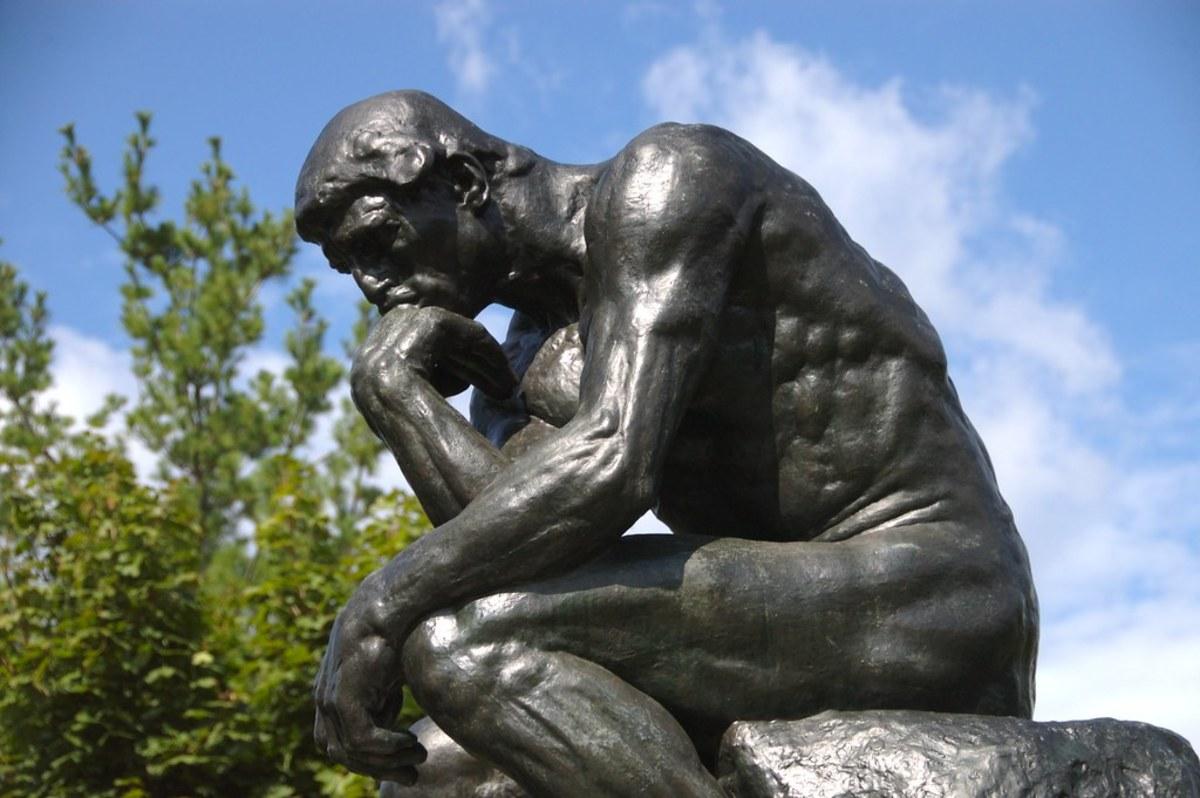Rodin's 'The Thinker'...