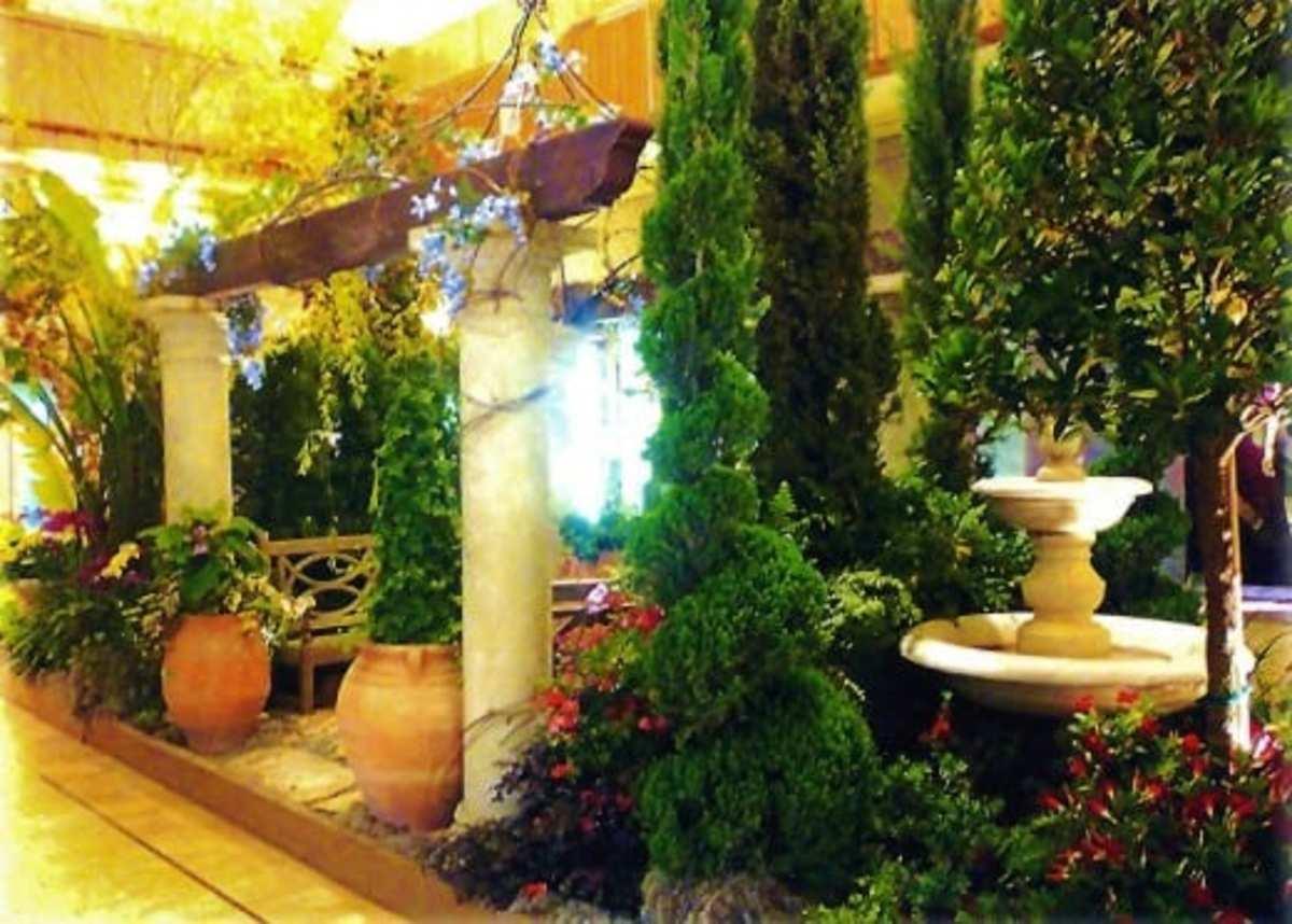 Primavera event inside the Galleria Mall in Houston, Texas