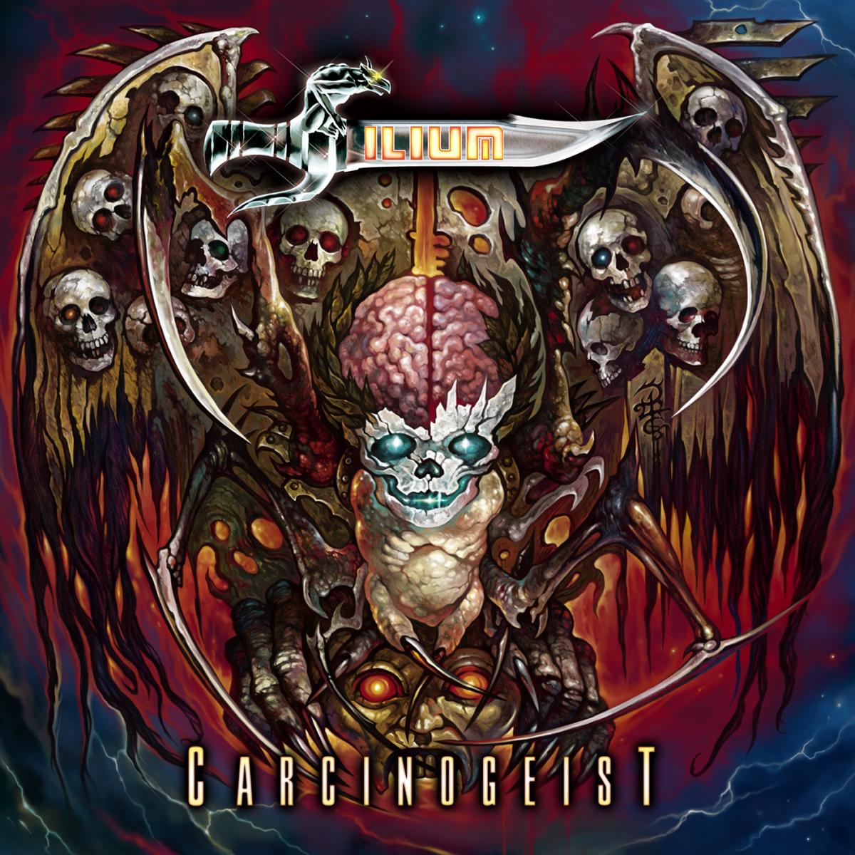 """""""Carcinogeist"""" album cover"""