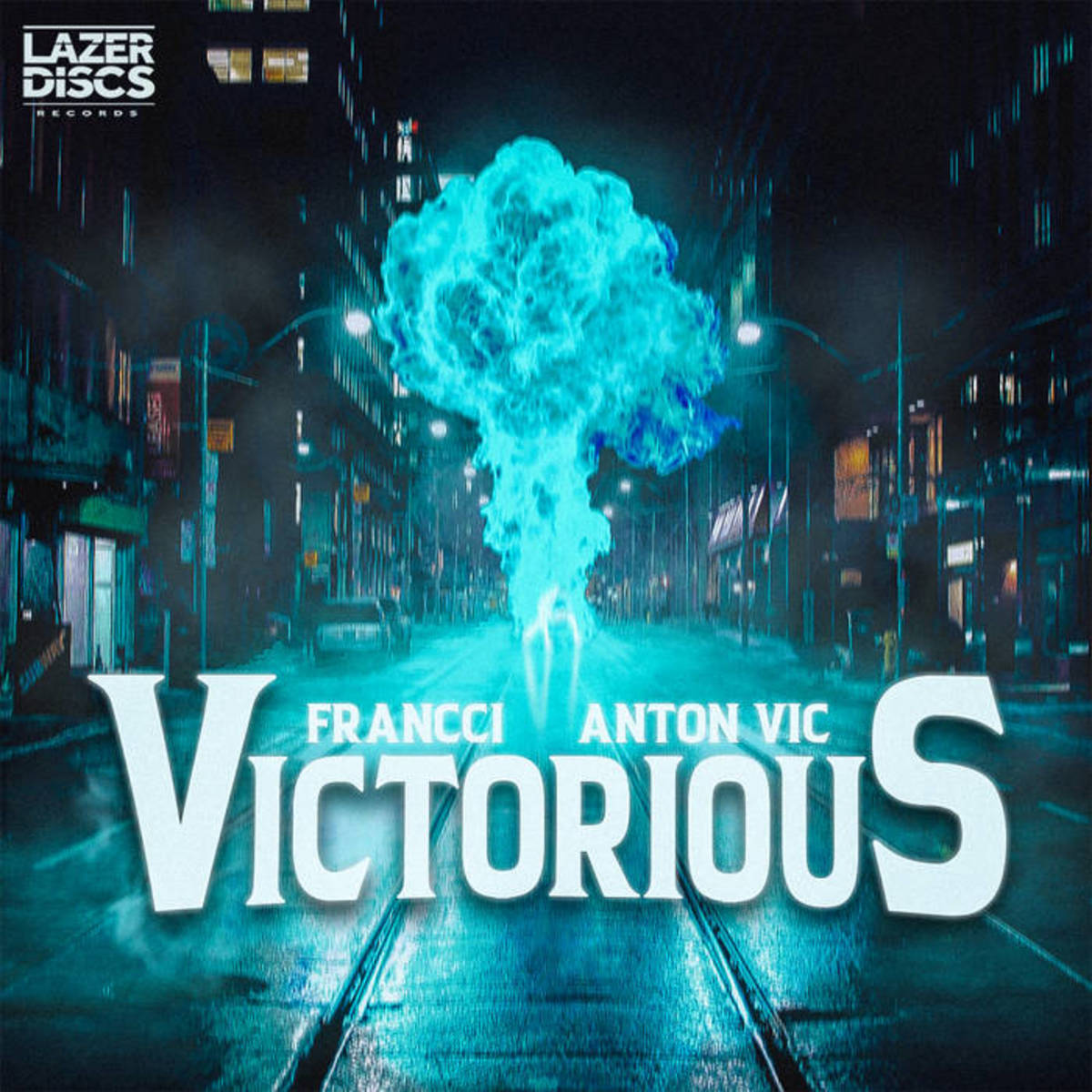 "Single artwork for ""Victorious"" by Francci (feat. Anton Vic)"