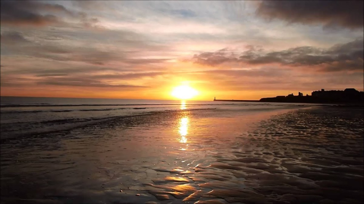 Beach Dawn, Tynemouth