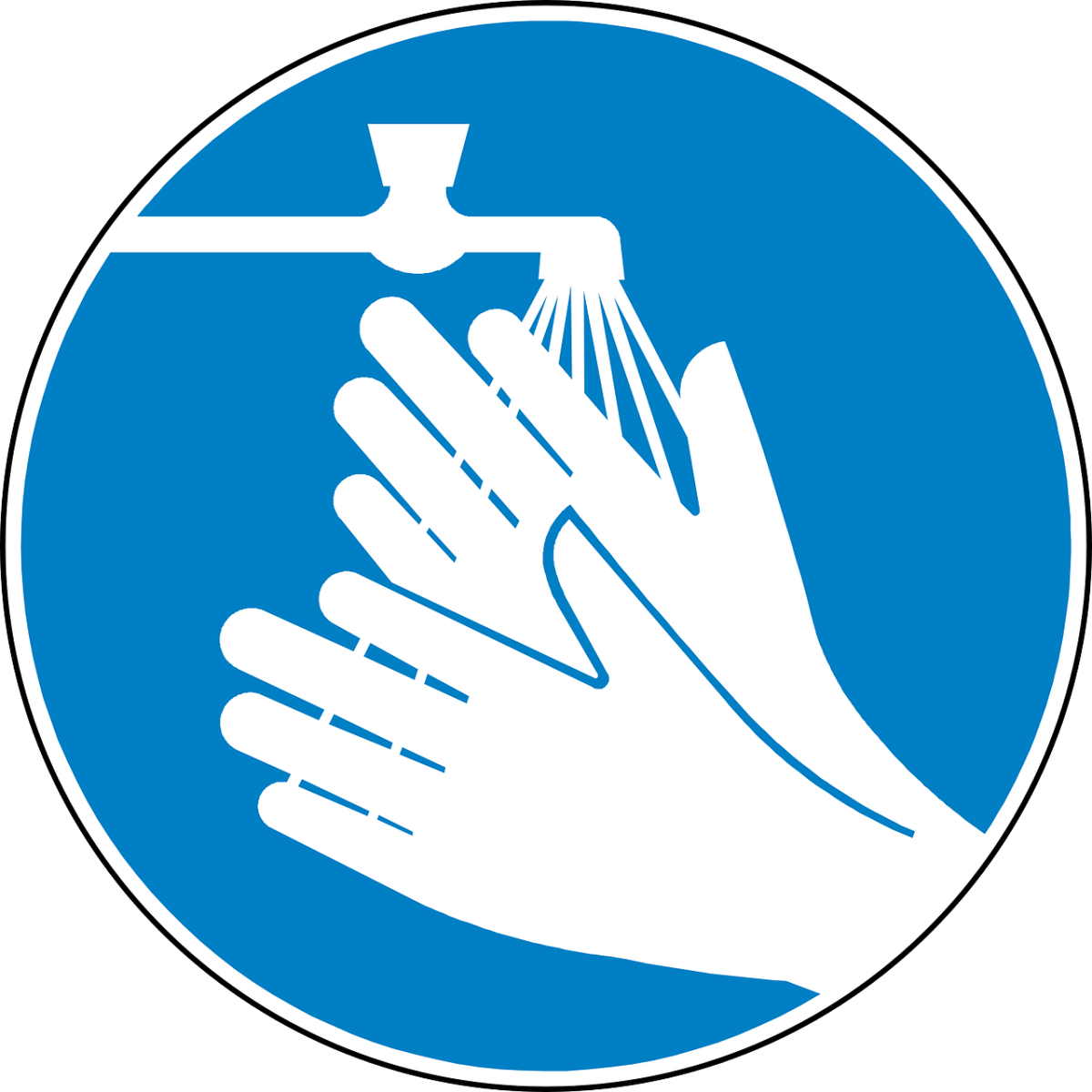 Wash Hands To Prevent Covid 19 Transmission