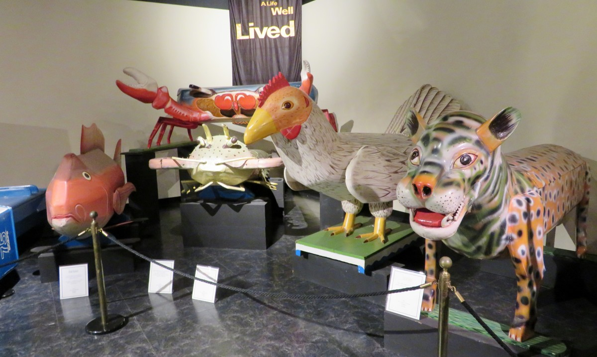 Fantasy Coffins at the National Museum of Funeral History in Houston