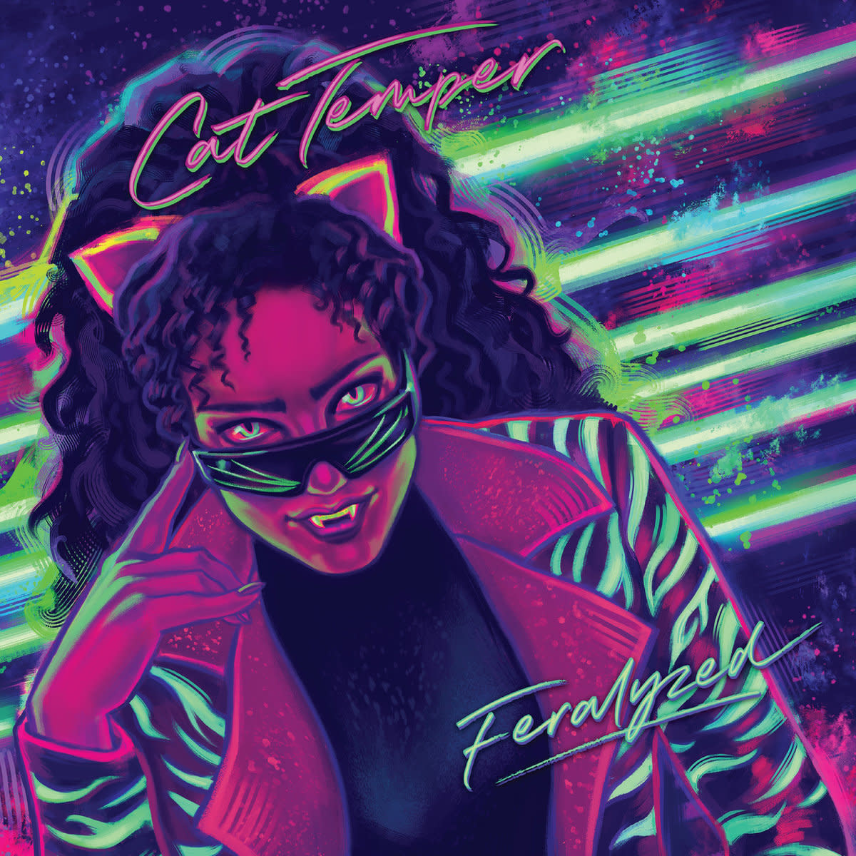 """Synth Album Review: """"Feralyzed"""" by Cat Temper"""