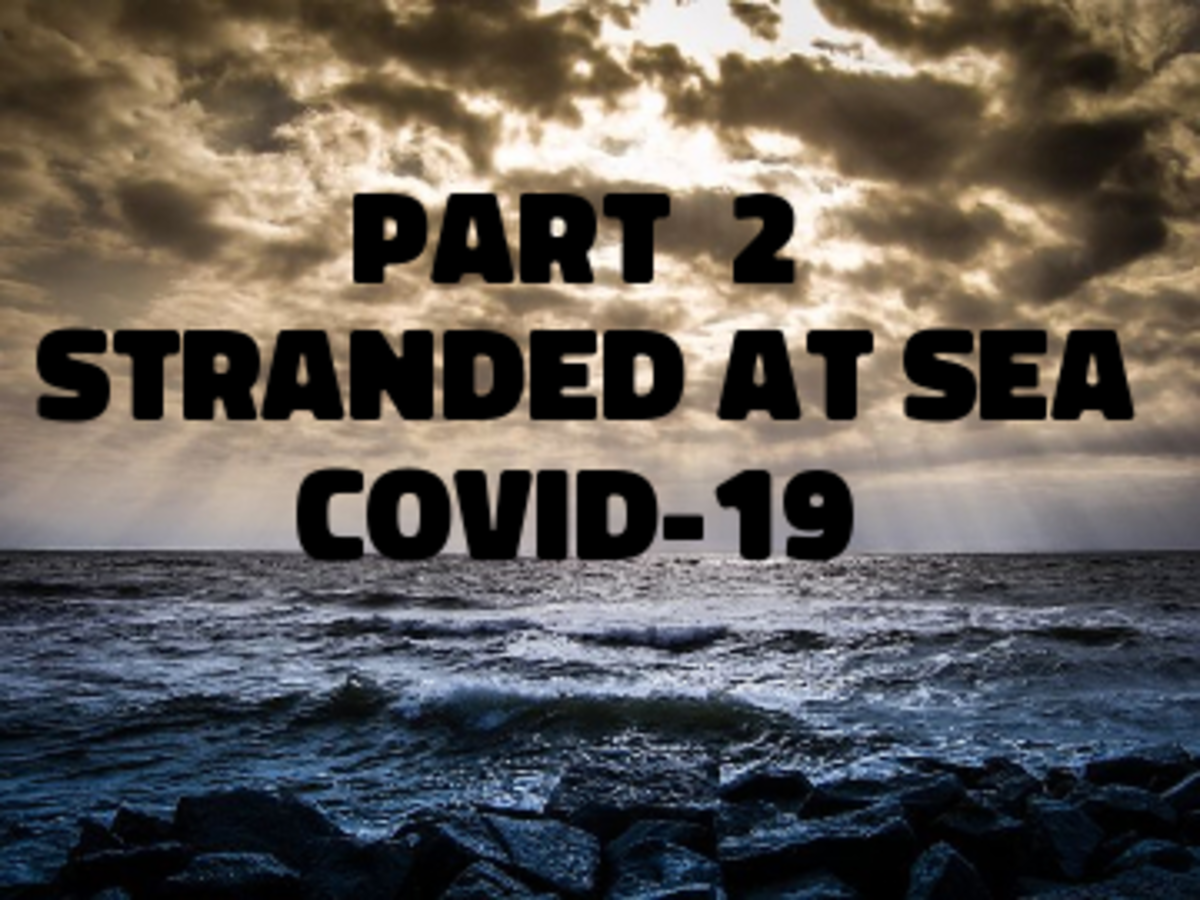 Poem: Part 2 Stranded at Sea - Covid-19