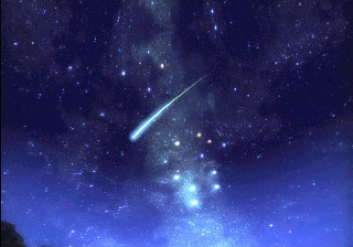 I Made a Wish Upon a Falling Star