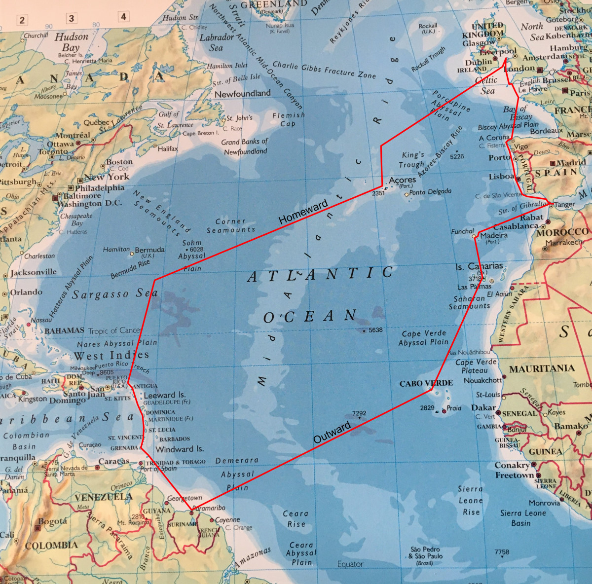 The Atlantic Voyage of Plancius 2018-2019
