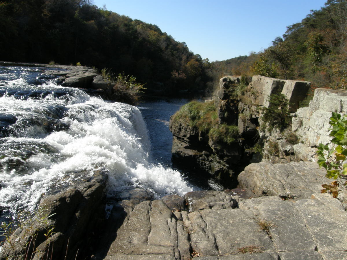 Weekend Trip #10:  Three Waterfalls, Rock Climbing, and Four Hiking Trails Within 30 Miles of One Another
