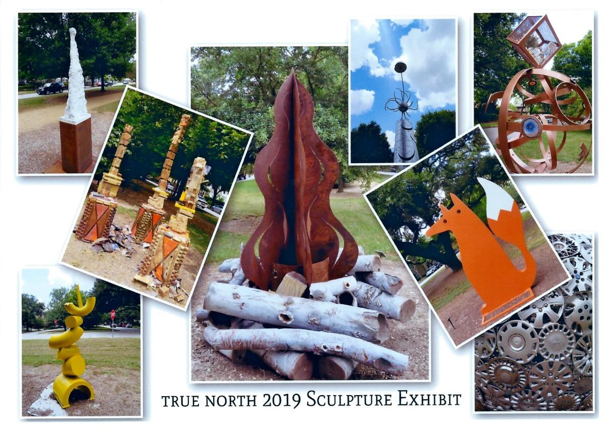 True North 2019: Sculpture Exhibit in The Houston Heights