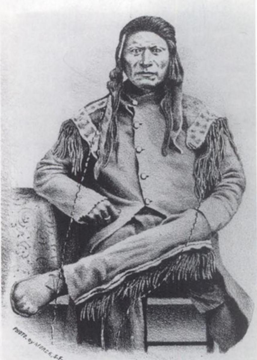 Numaga ( c. 1830 - November 5, 1871),  Paiute War Chief and Peace Negotiator