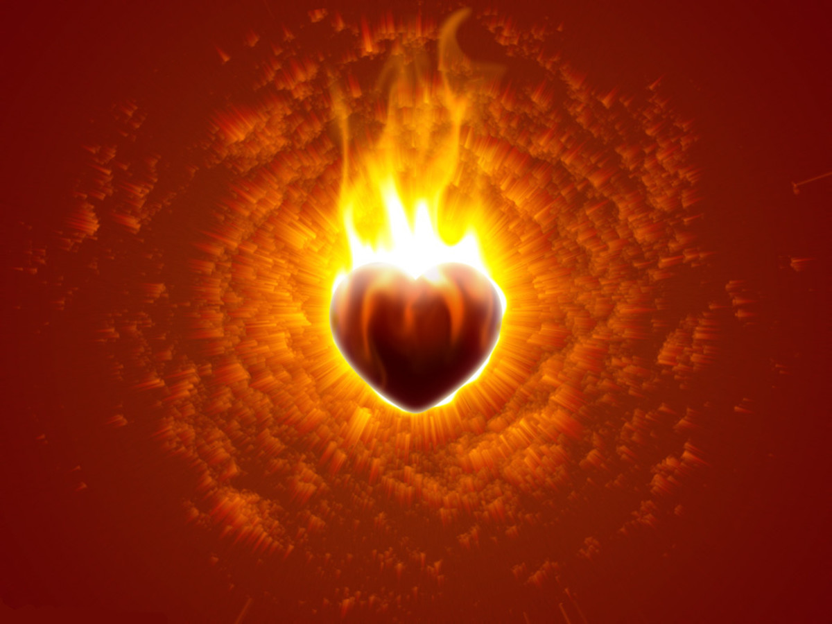 The Sacred Fire of Love. Friday's Inspiration 6, a Soulful Offering to Rosina S Khan