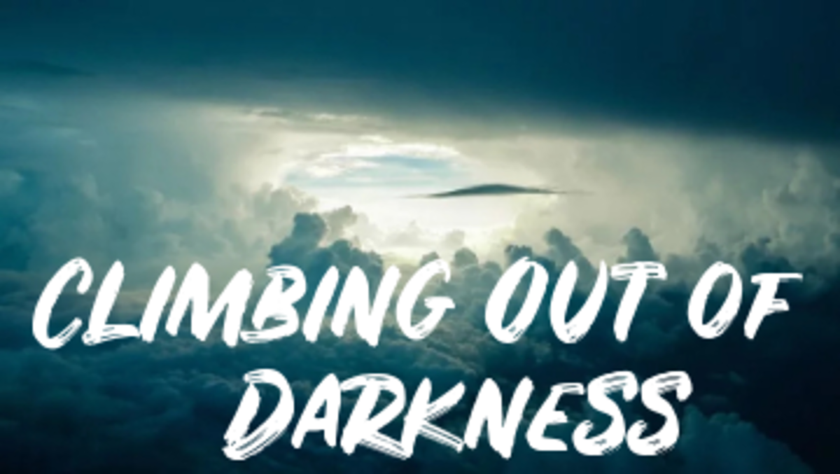 Poem: Climbing out of Darkness
