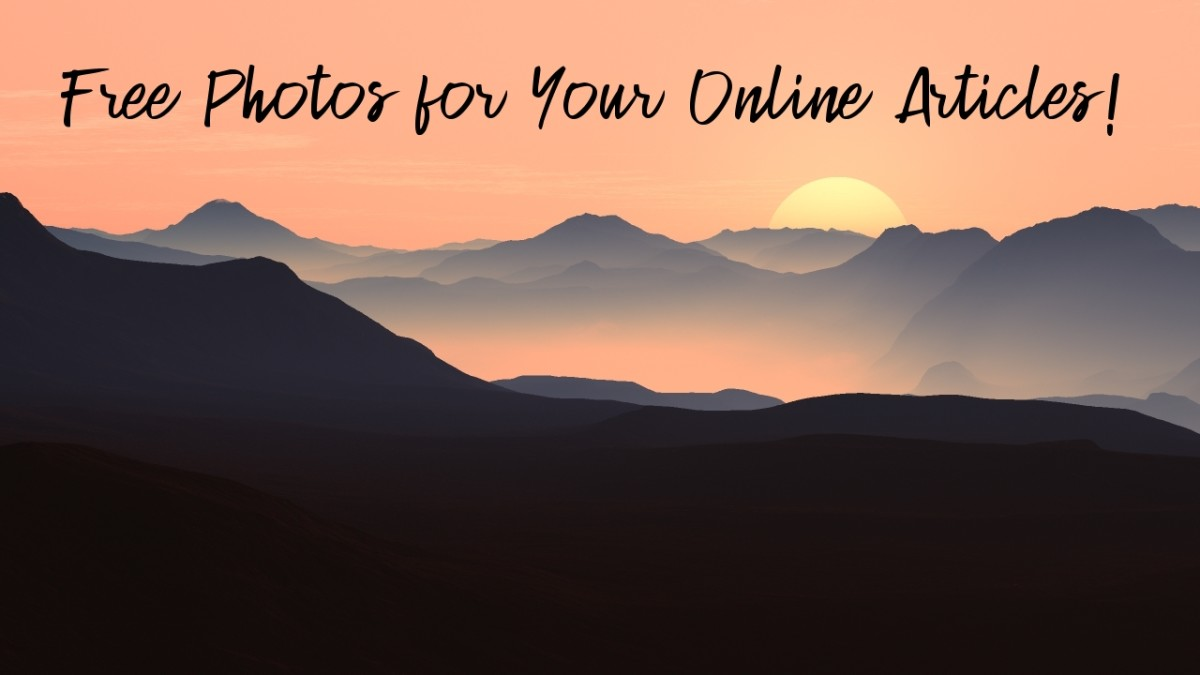 Make Money Online With HubPages: Where Can I Find Free Legal Photos for My Articles?