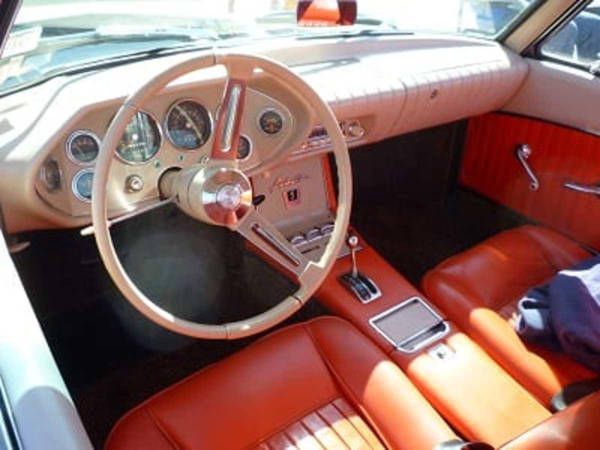 Vintage Avanti Front Seat