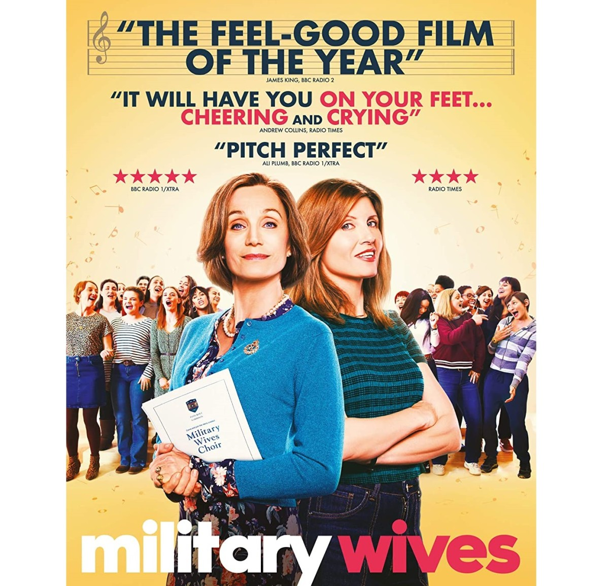 """""""Military Wives"""" Movie Review: A Very British Film"""