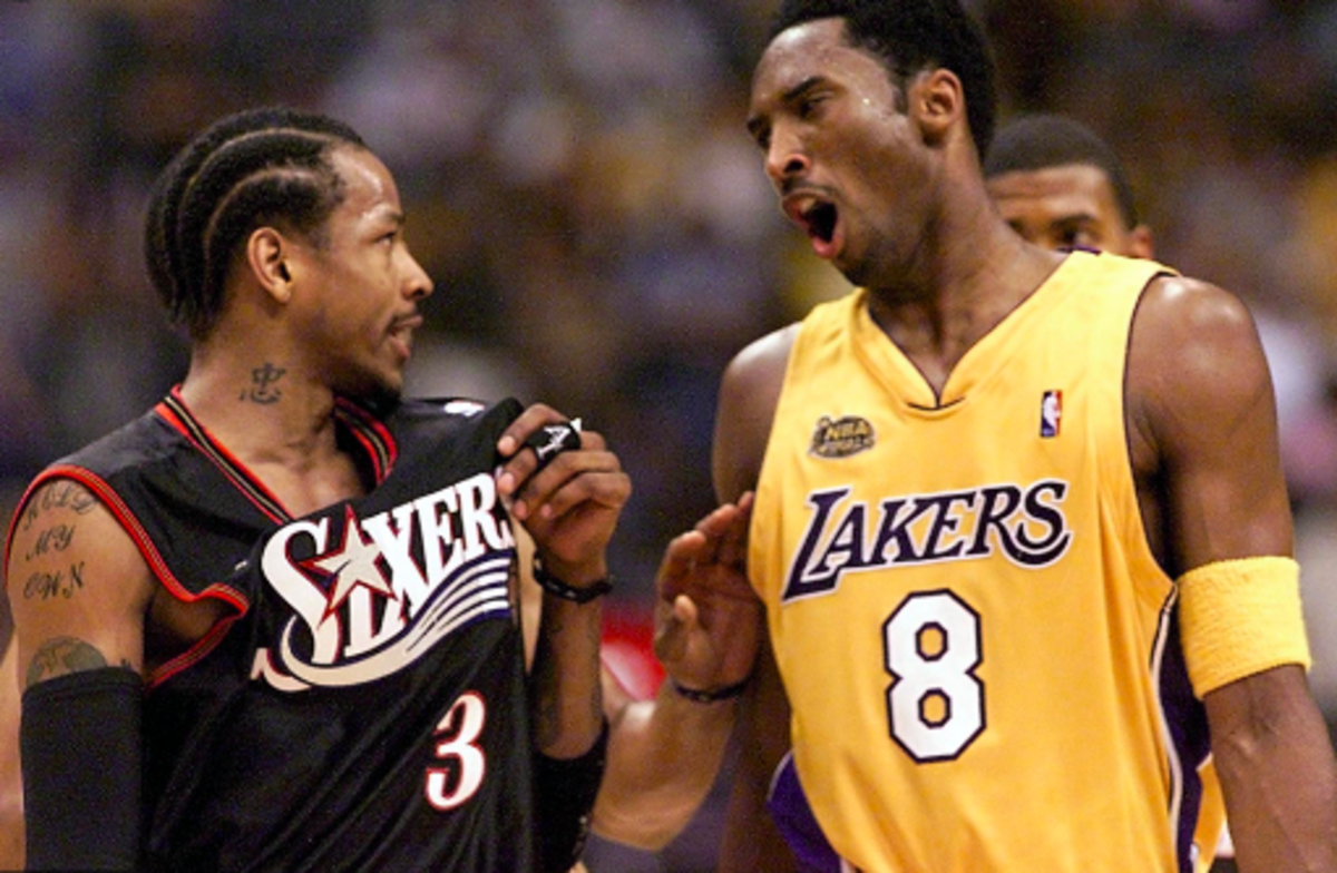 Greatest NBA Finals Performances: Allen Iverson Scores 48 in Game 1, 2001