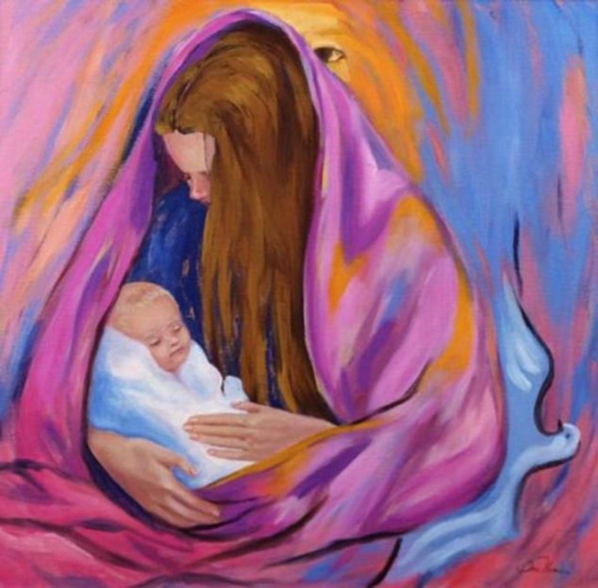 Prayer of Healing from Covid-19: Prayer to Our Blessed Mother Mary
