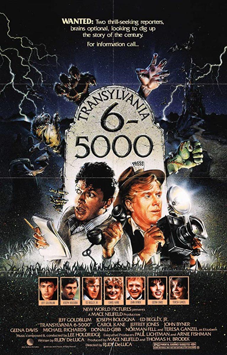 Transylvania 6-5000 Movie Poster