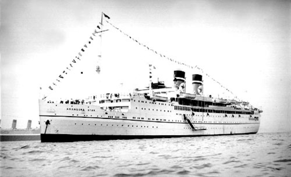 The Arandora Star during her prime.