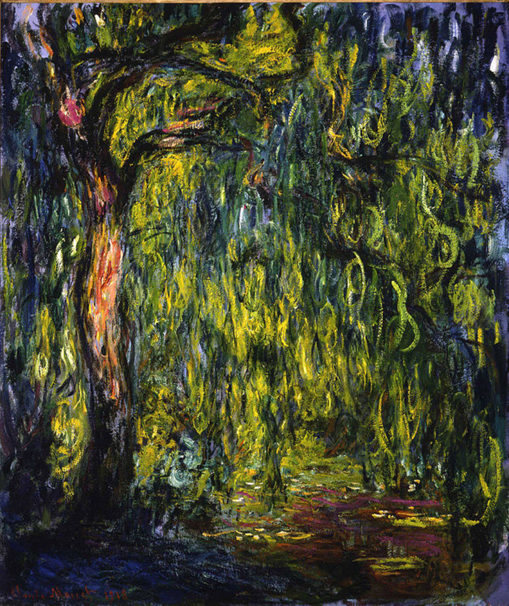 Weeping Willow by Claude Monet, 1918 - 1919