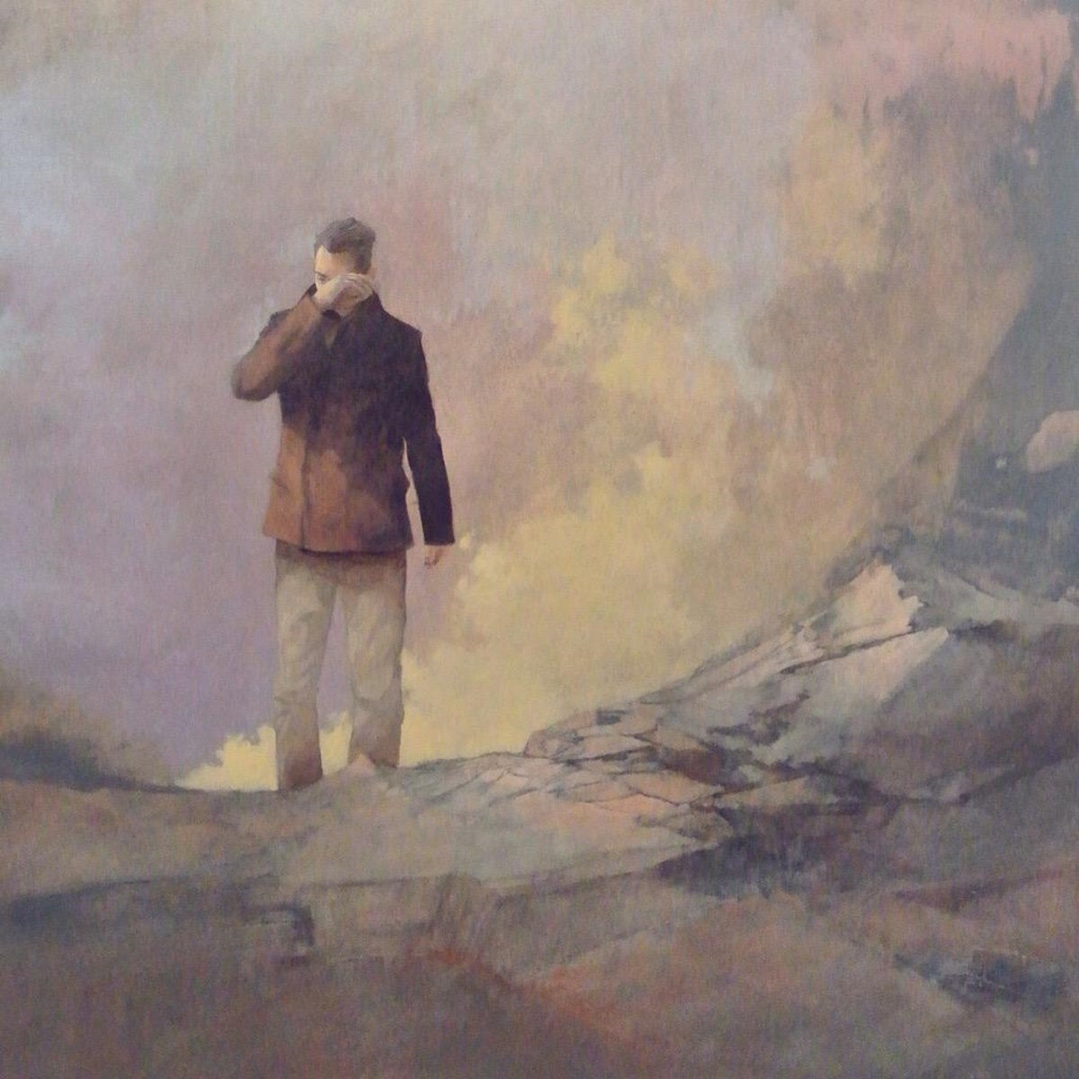 Federico Infante - The Last Poet (Acrylic on Canvas - 121 x 76 cm - 2015)