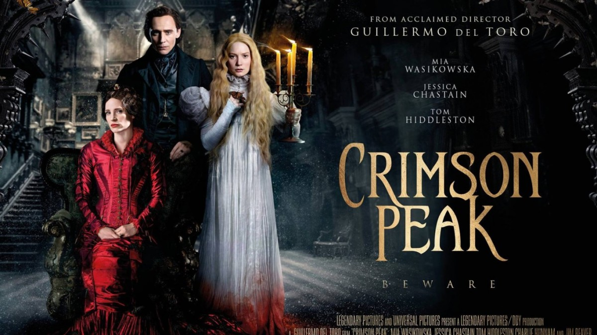 Crimson Peak (2015) Film Poster