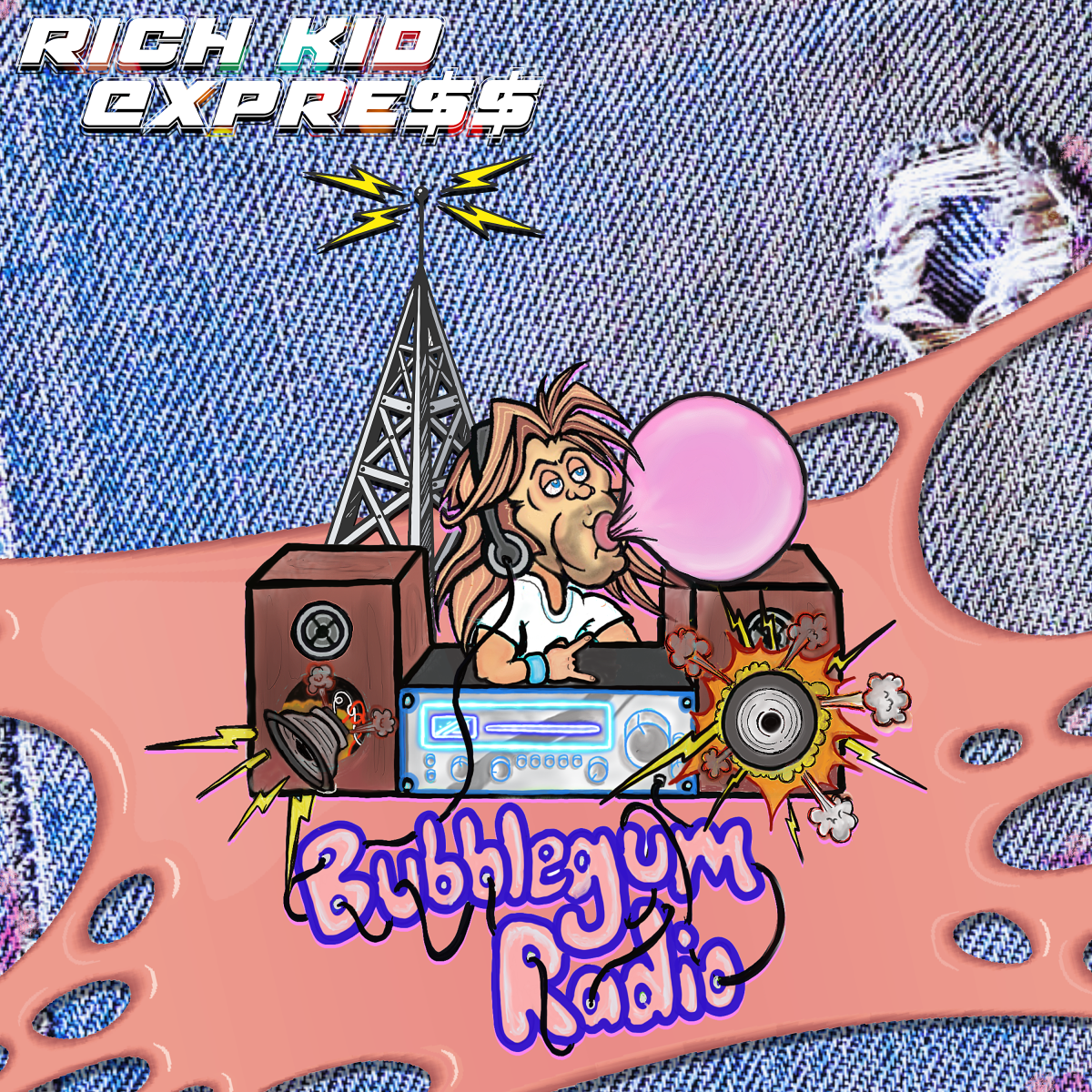 """Bubblegum Radio"" EP cover"
