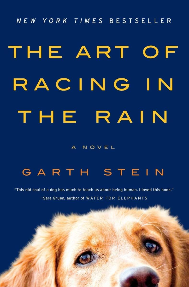 """""""The Art of Racing in the Rain"""" by Garth Stein"""
