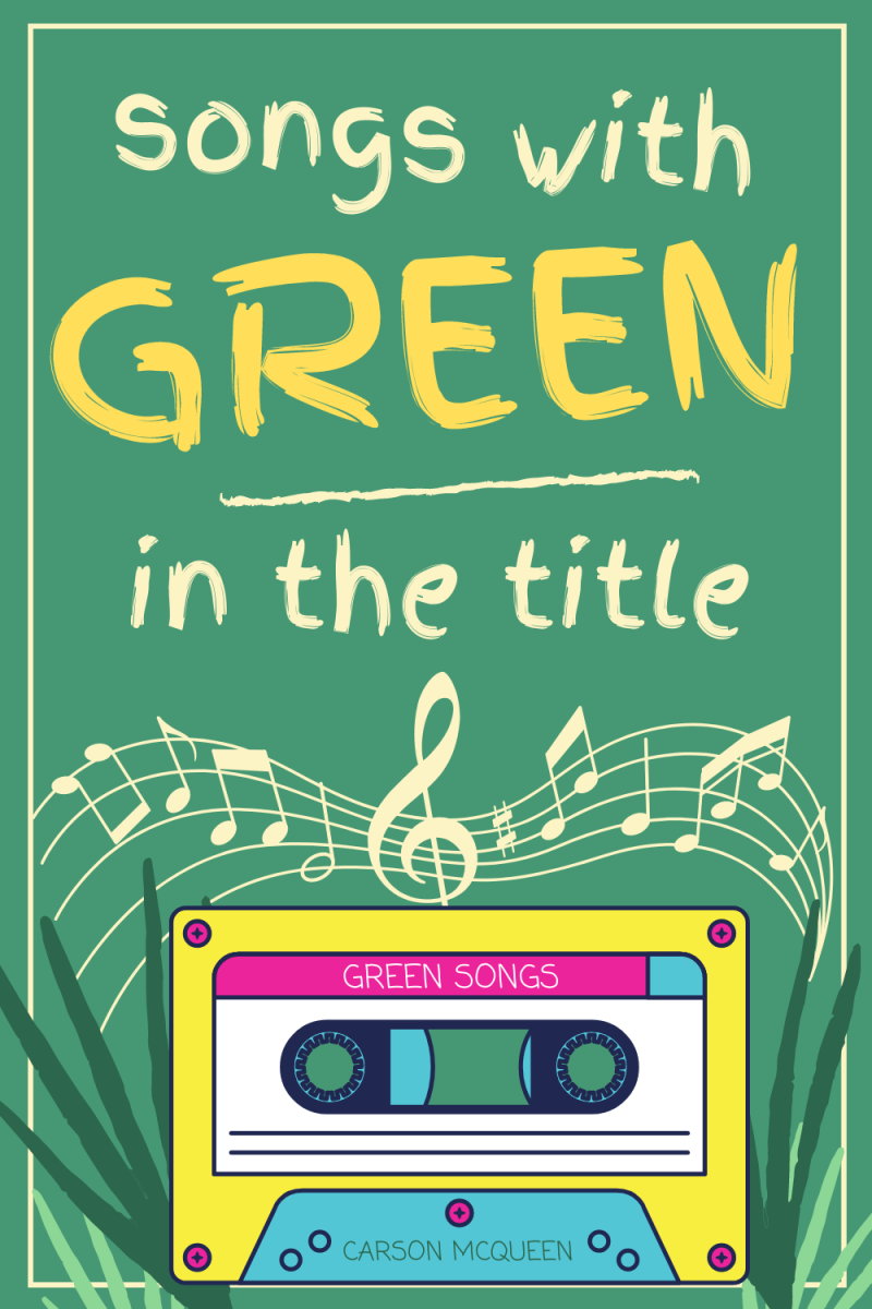 100+ Songs With Green in the Title