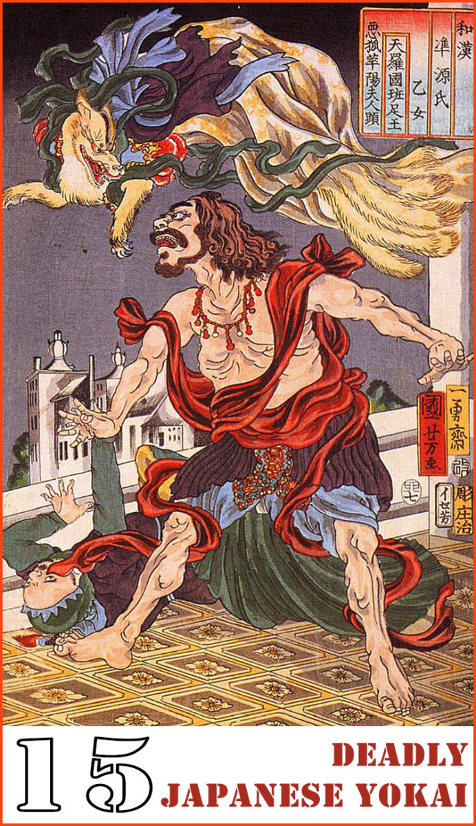 15 Deadly Japanese Yokai You'd Never Want to Meet