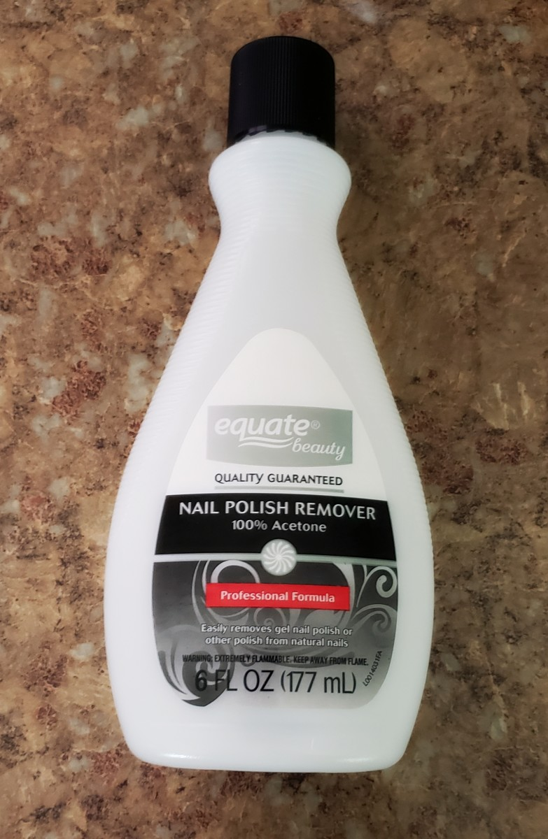 Great for removing nail polish and sticky glue from hands!