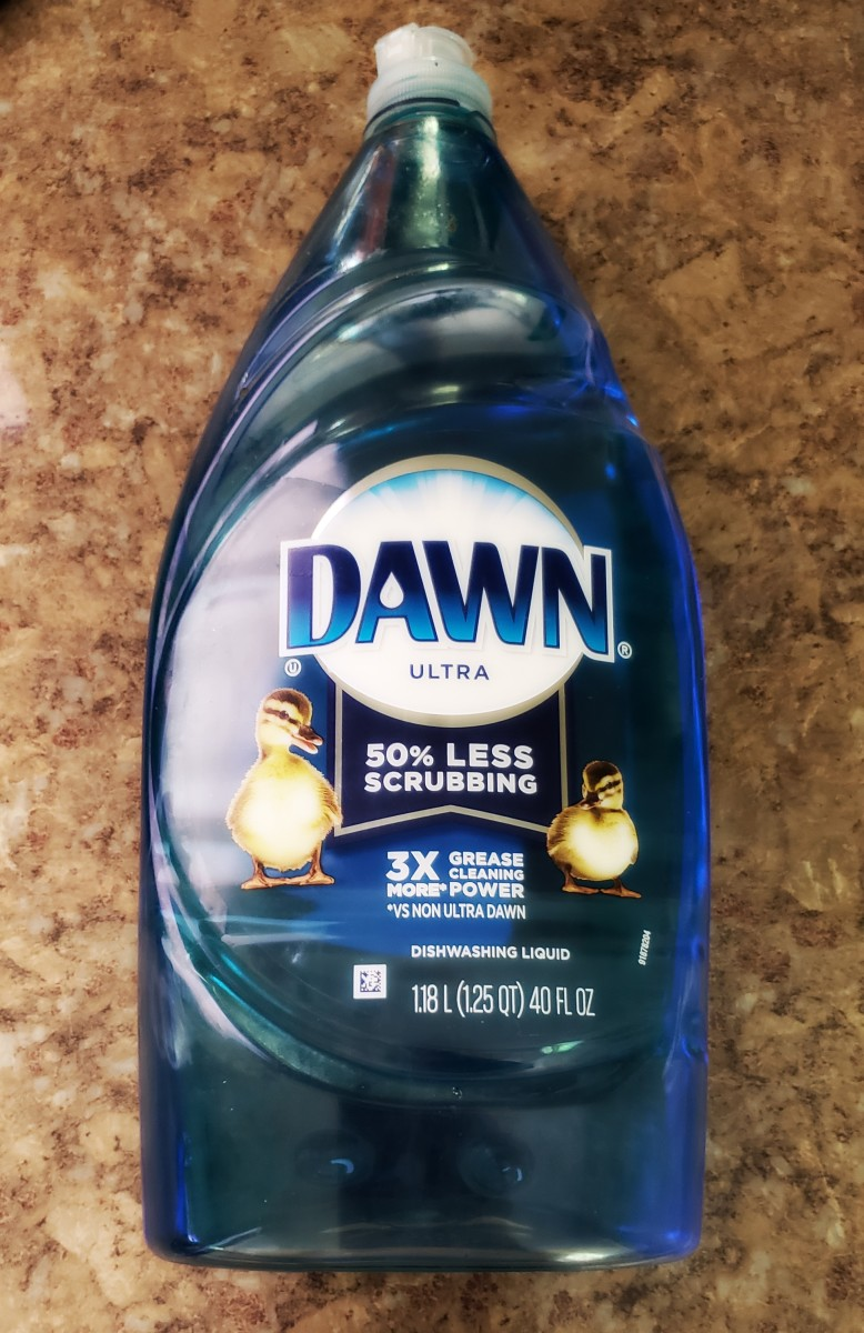 Dawn dish soap has a variety of uses around the house.