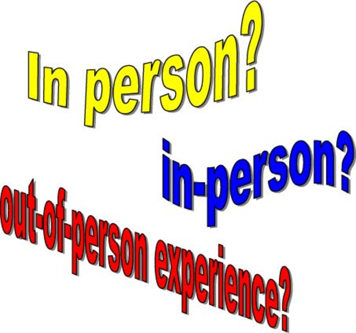 "Frustrating English Grammar: Which Is Correct: ""in-Person"" or ""in Person""?"