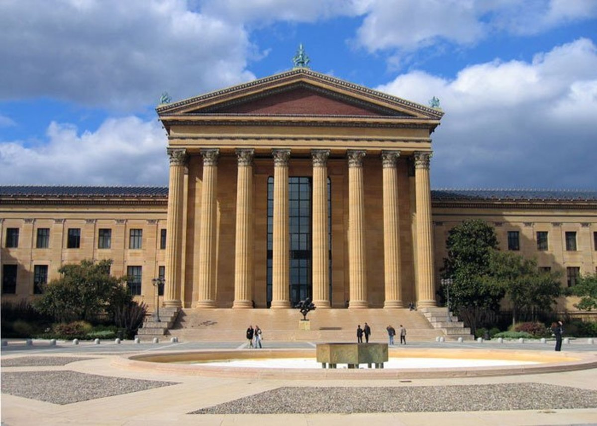 The Philadelphia Museum of Art is free on Sundays until 1:00pm