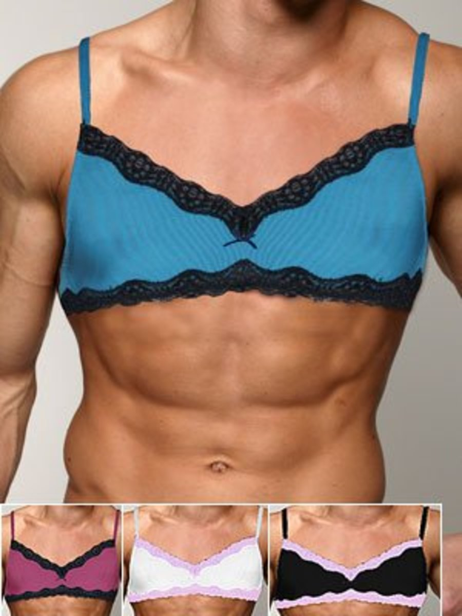 Men In Bras: Just For Fun