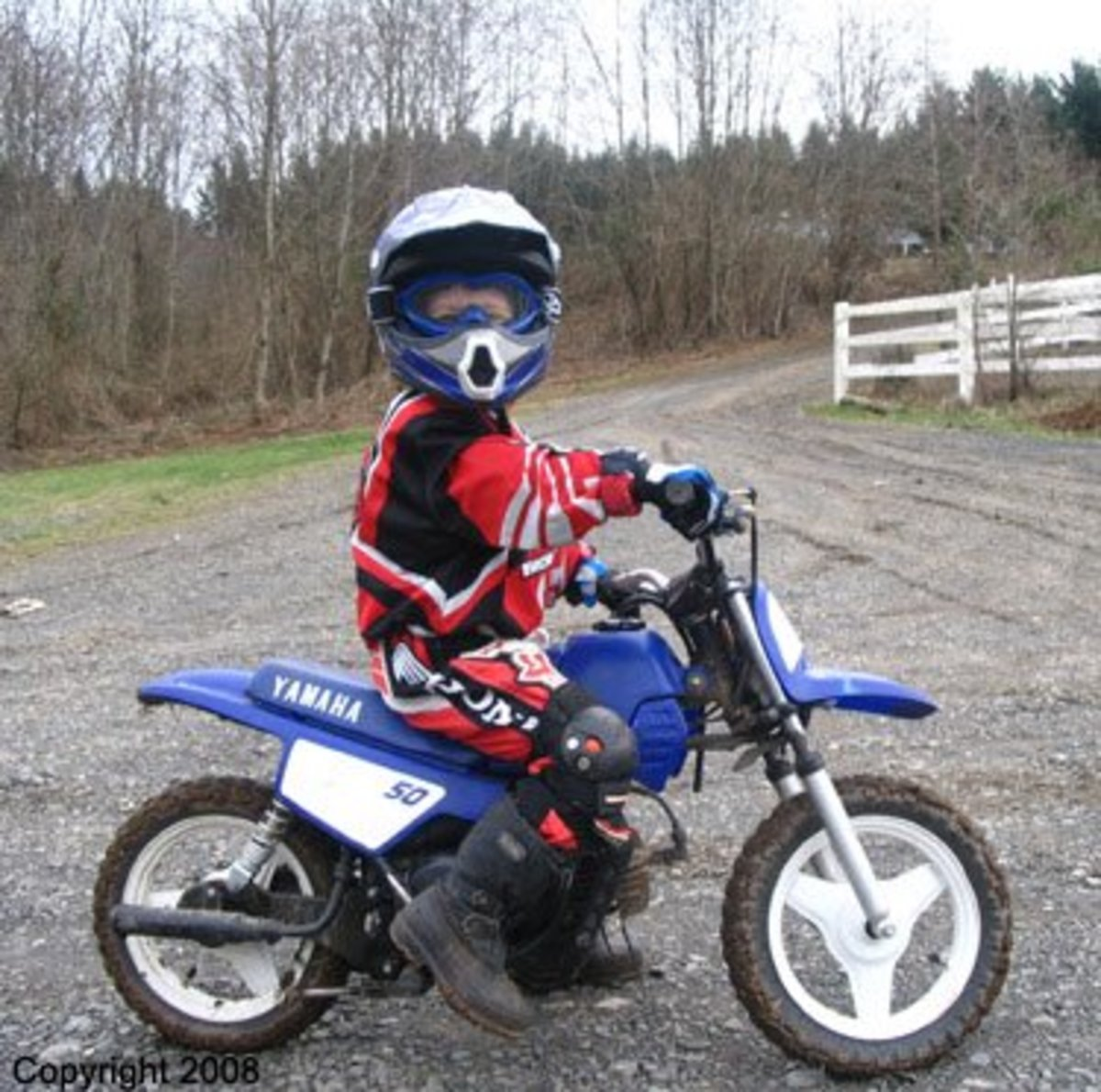 4 And 5 Year Olds On Dirt Bikes Year Old PW Rider