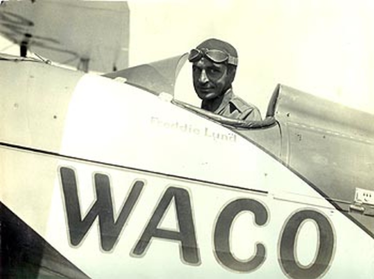Freddie Lund: Test & Stunt Pilot