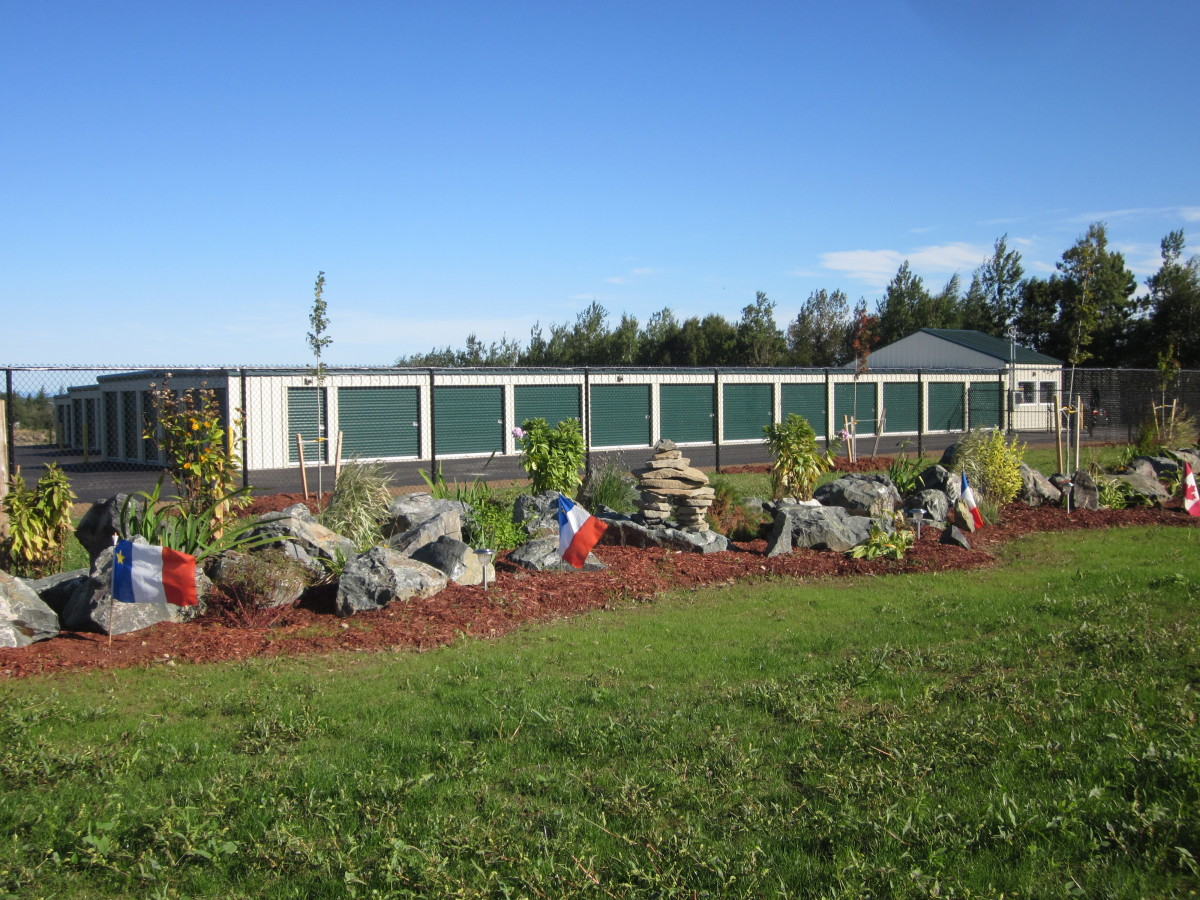 Our beautifully landscaped self-storage business.