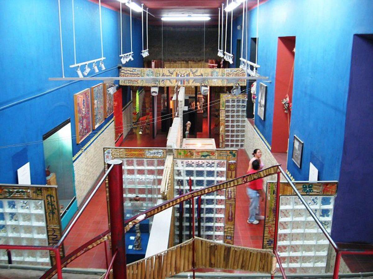 Huichol Museum in Mexico.
