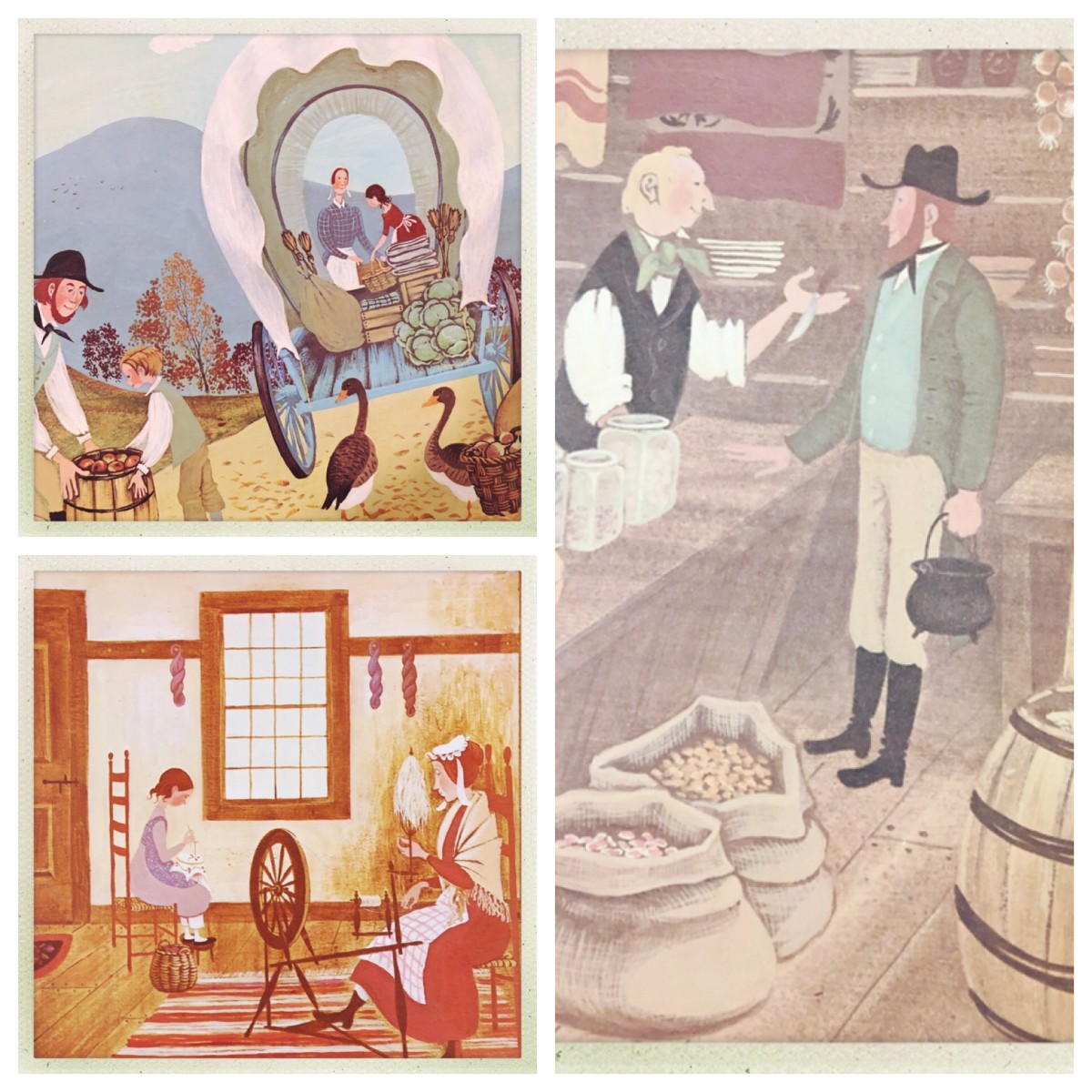 Illustrations from the book.