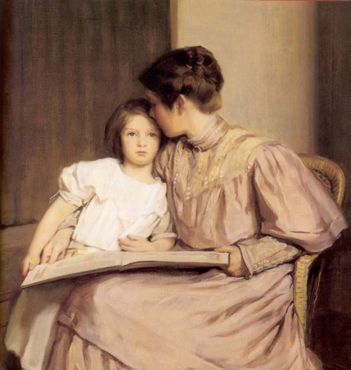 """WIlliam Robert Kendall's """"An Interlude"""" 1907"""