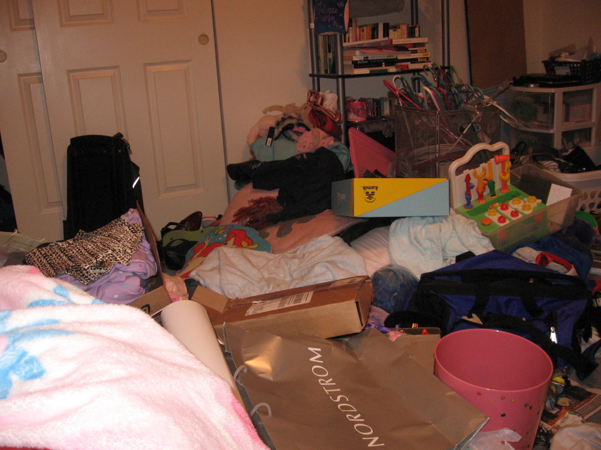 The messiest room in the world... I challenge you to find messier