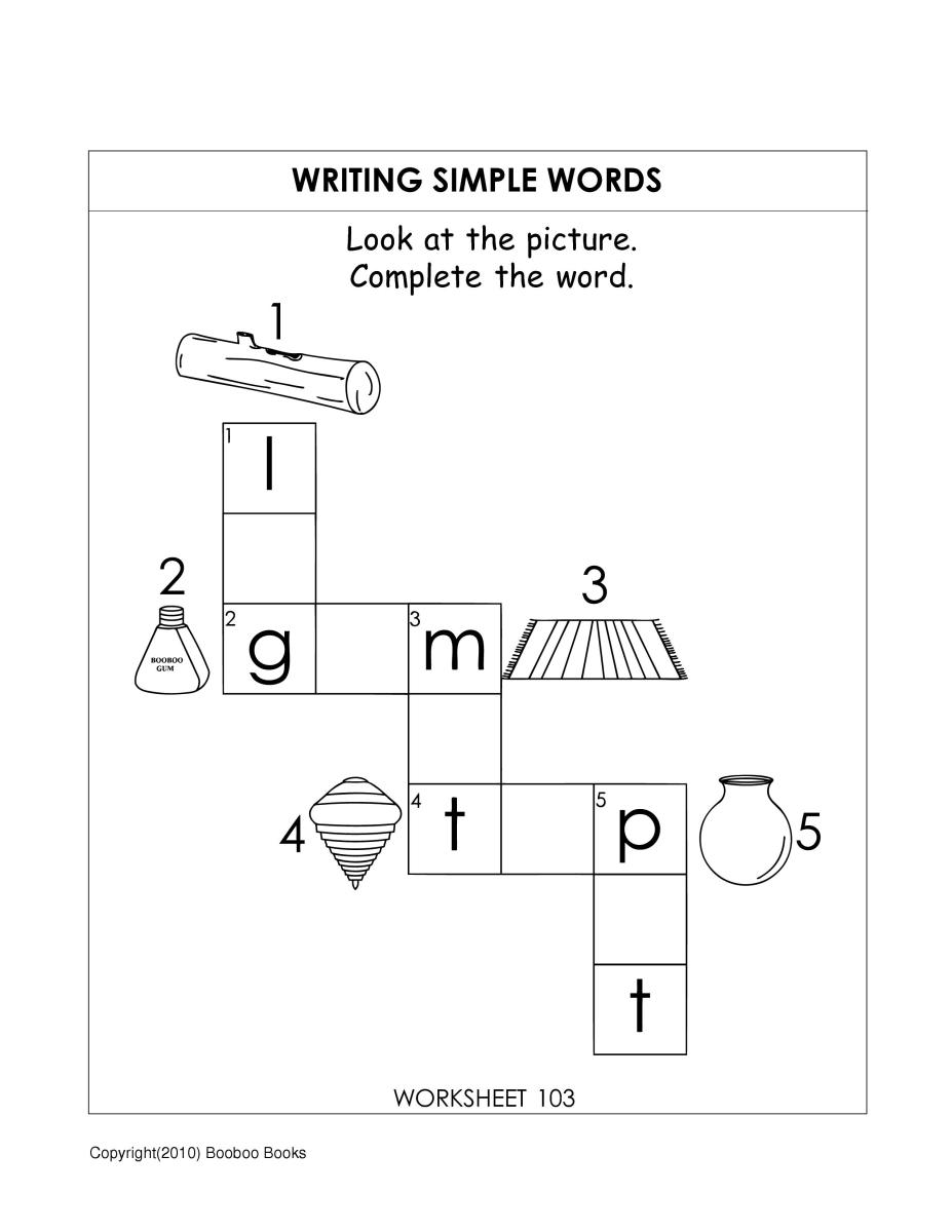Printable Kindergarten Worksheets | Worksheets for kids