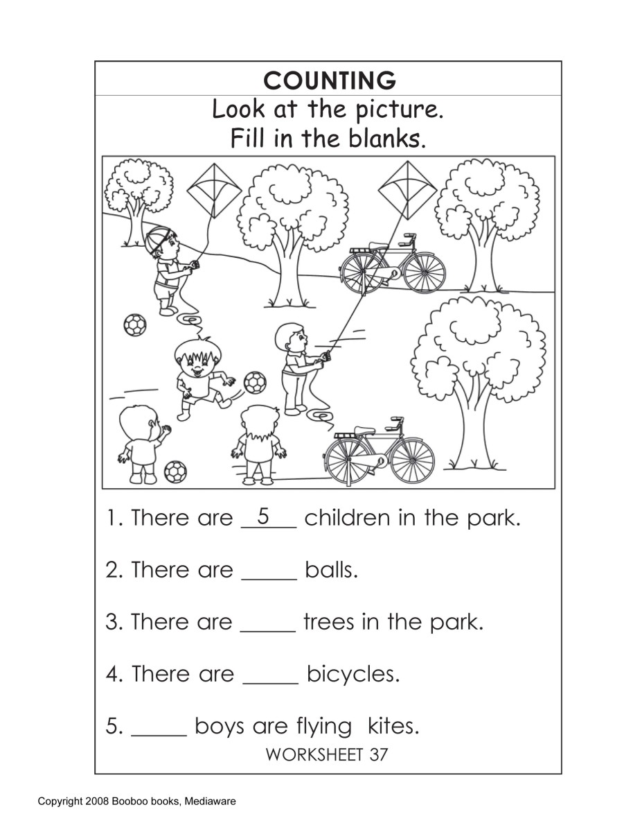 Printable Kindergarten Worksheets Worksheets for kids koBhVJoC