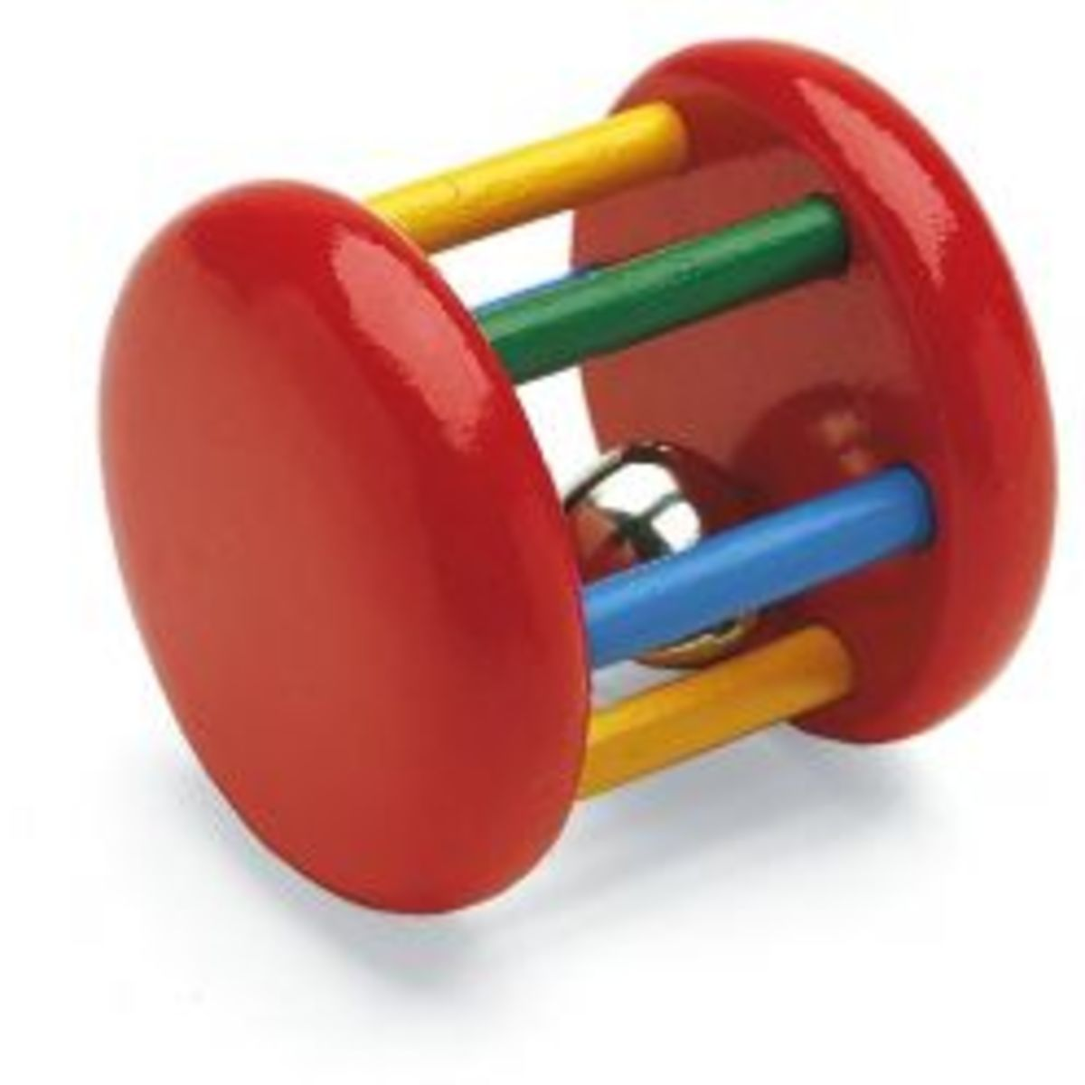This Toy Has Bright Colours, Rolls Along and Makes a Noise
